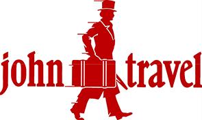 logo maletas john travel