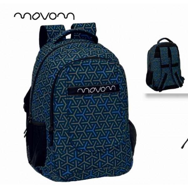 mochila-grande-cremallera-movom-helix-azul